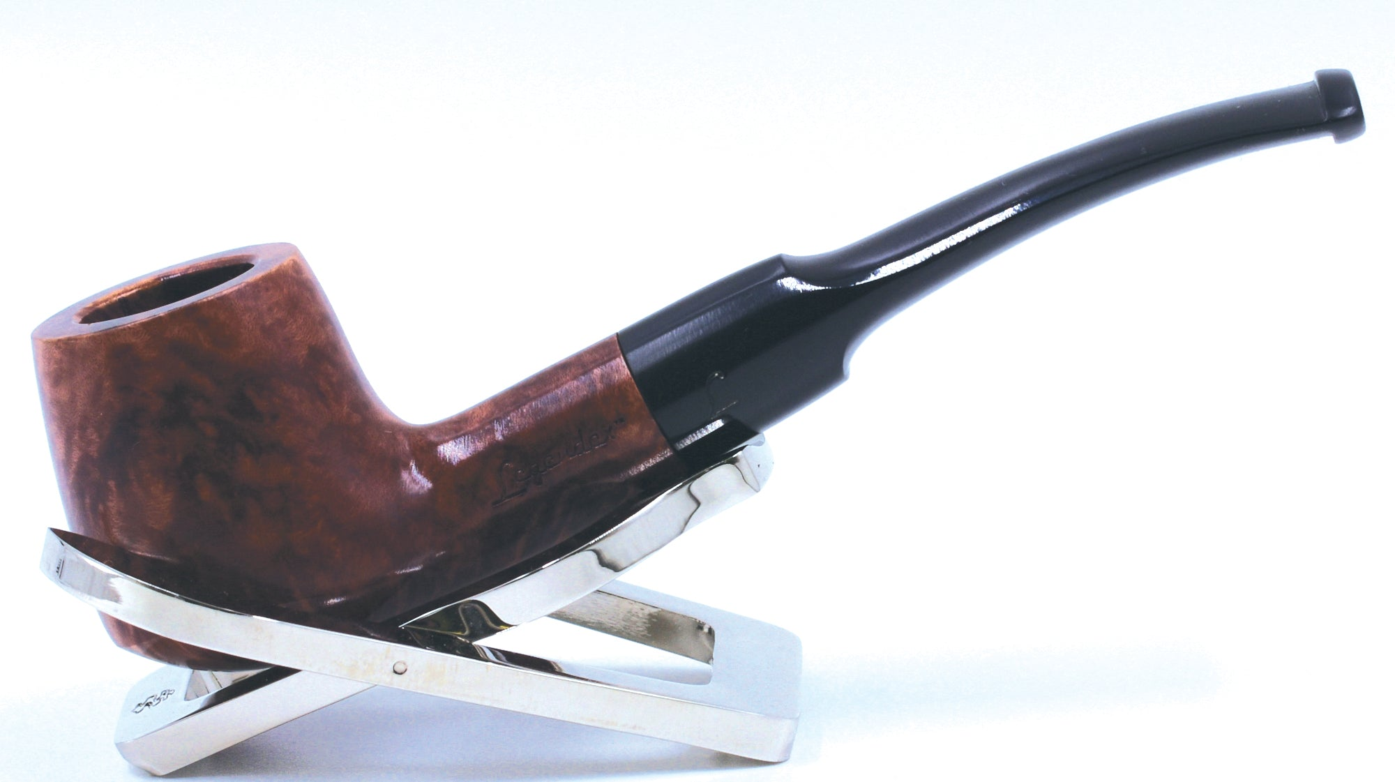 LEGENDEX® SCALADI* 6 MM Filtered Briar Smoking Pipe Made In Italy 01-08-114