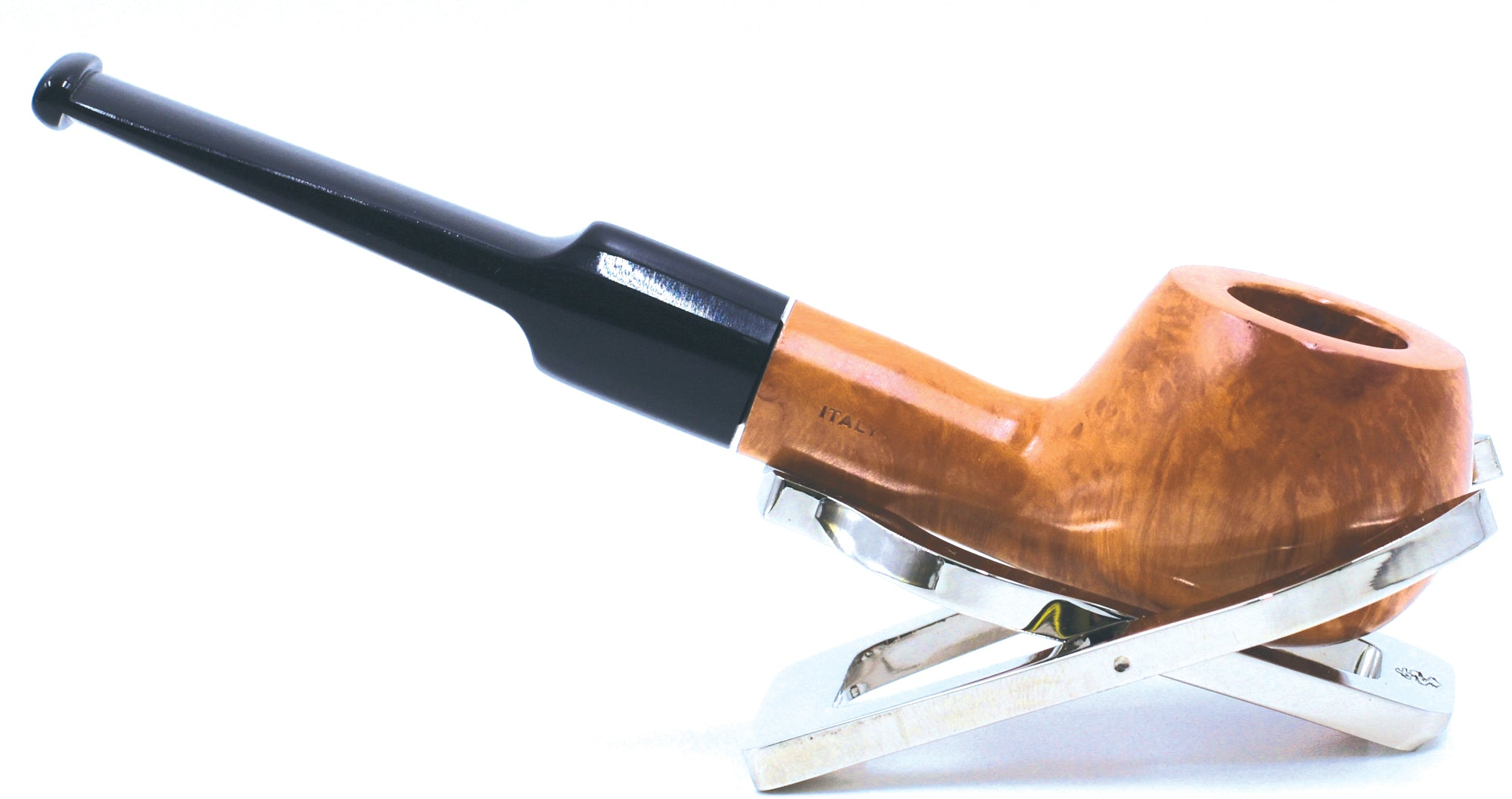LEGENDEX® SCALADI* 9 MM Filtered Briar Smoking Pipe Made In Italy 01-08-119