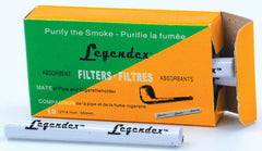 LEGENDEX® SCALADI* 6 MM Filtered Briar Smoking Pipe Made In Italy 01-08-120