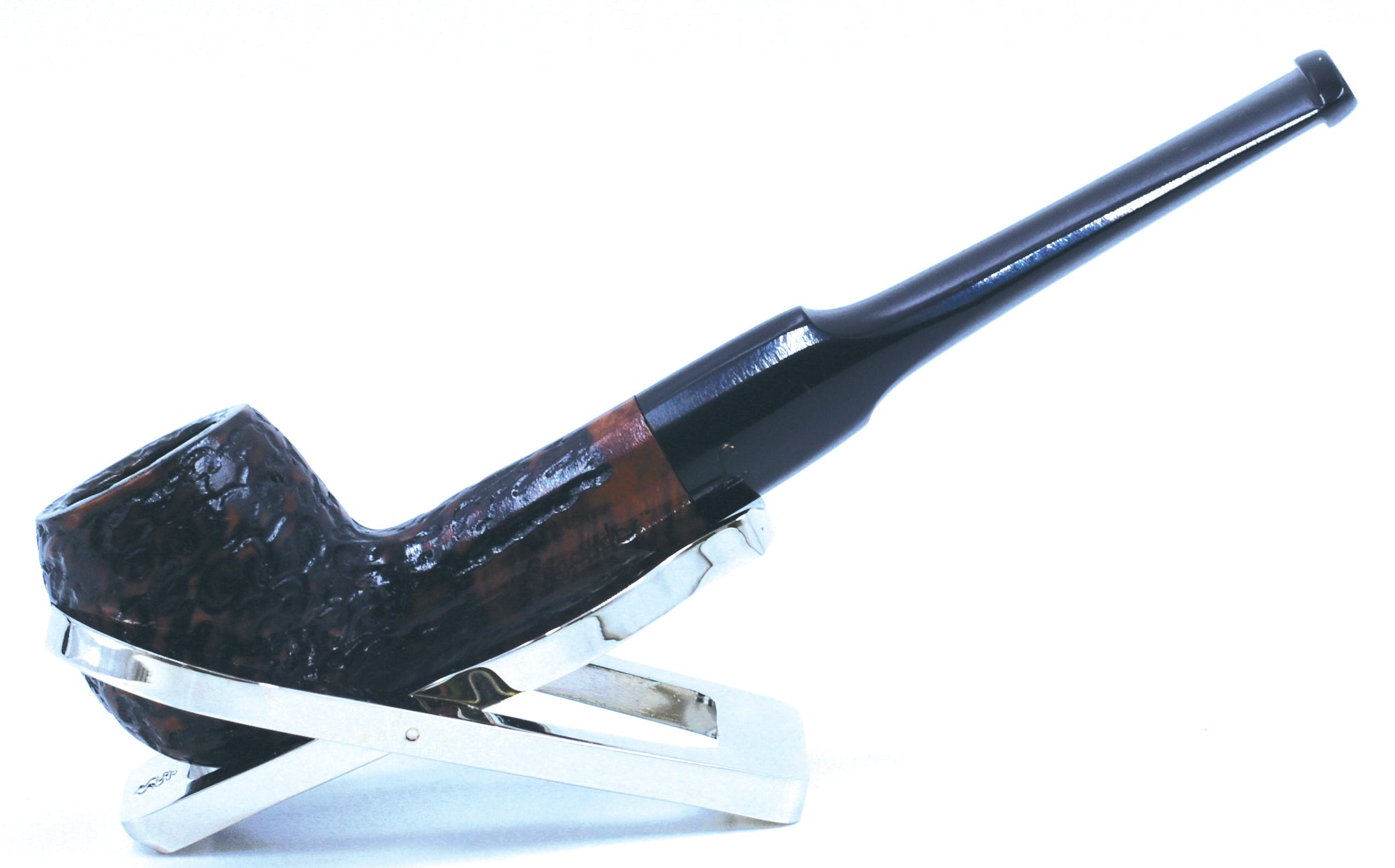 LEGENDEX® SCALADI* 6 MM Filtered Briar Smoking Pipe Made In Italy 01-08-124