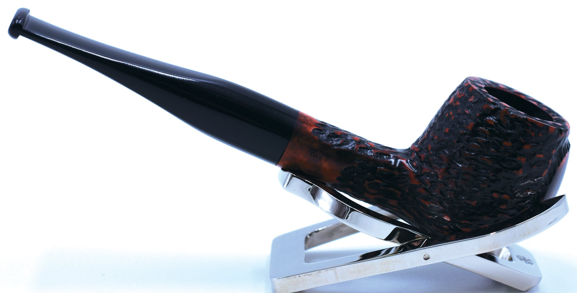 LEGENDEX® SCALADI* 9 MM Filtered Briar Smoking Pipe Made In Italy 01-08-125