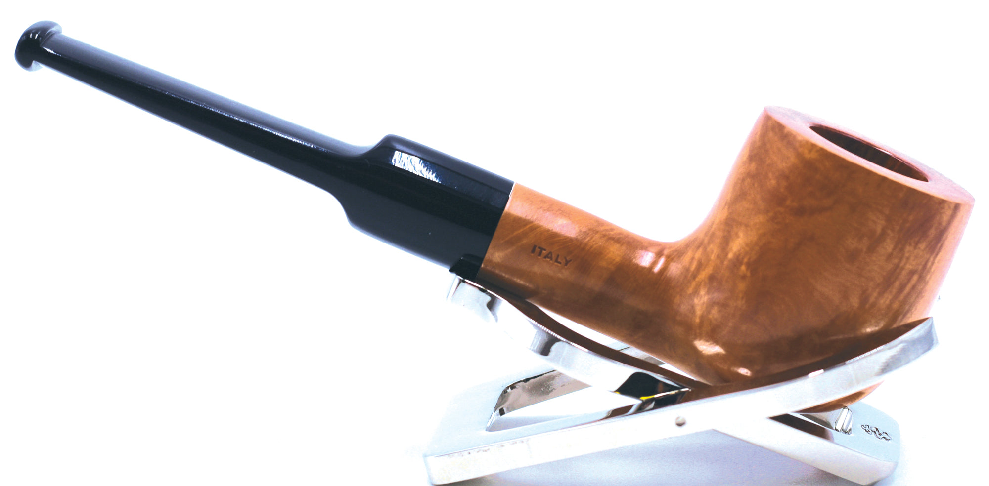 LEGENDEX® SCALADI* 9 MM Filtered Briar Smoking Pipe Made In Italy 01-08-128