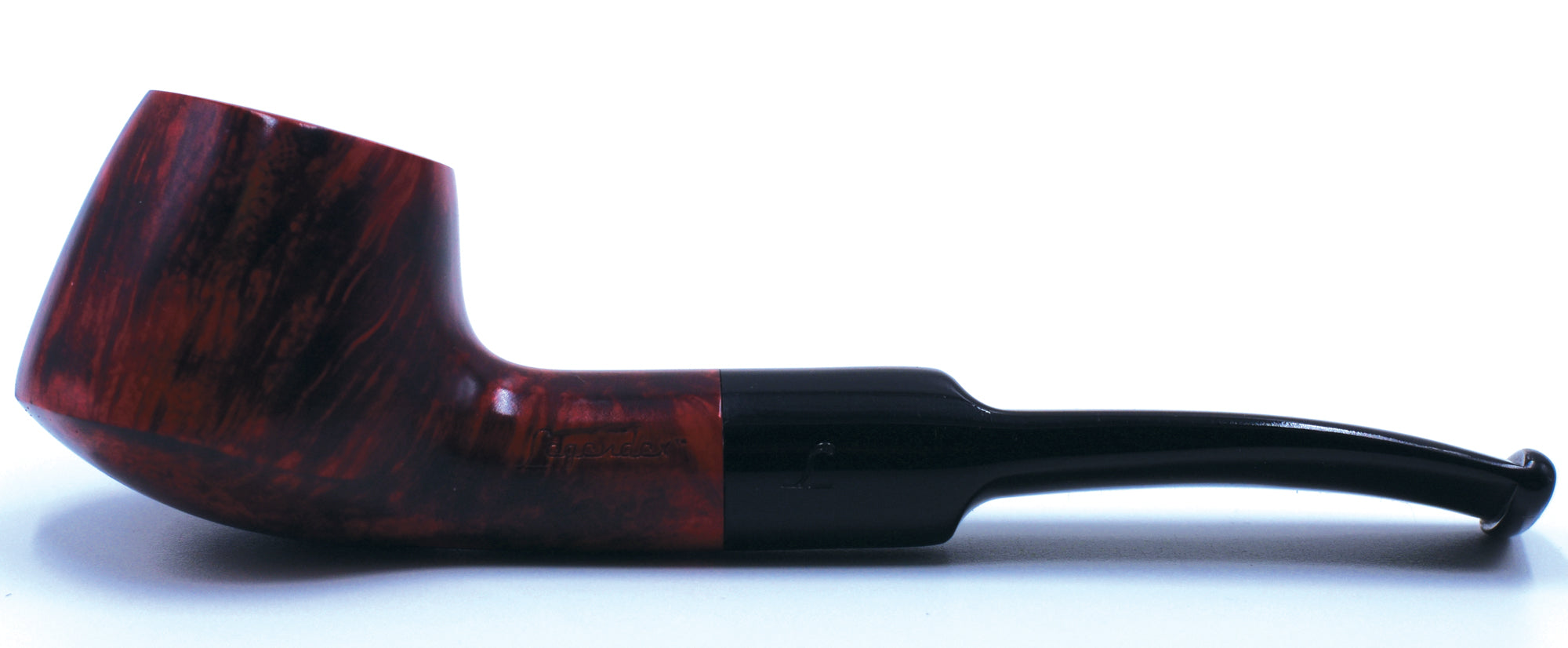LEGENDEX® SCALADI* 9 MM Filtered Briar Smoking Pipe Made In Italy 01-08-131
