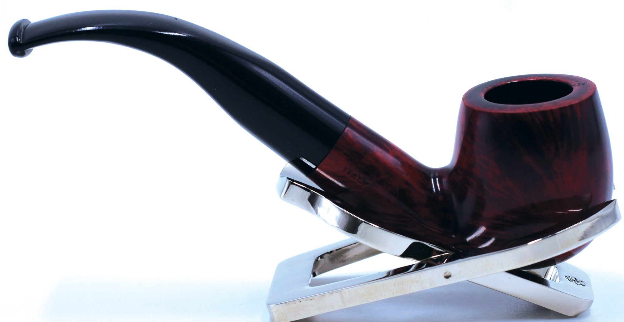 LEGENDEX® SCALADI* 9 MM Filtered Briar Smoking Pipe Made In Italy 01-08-135