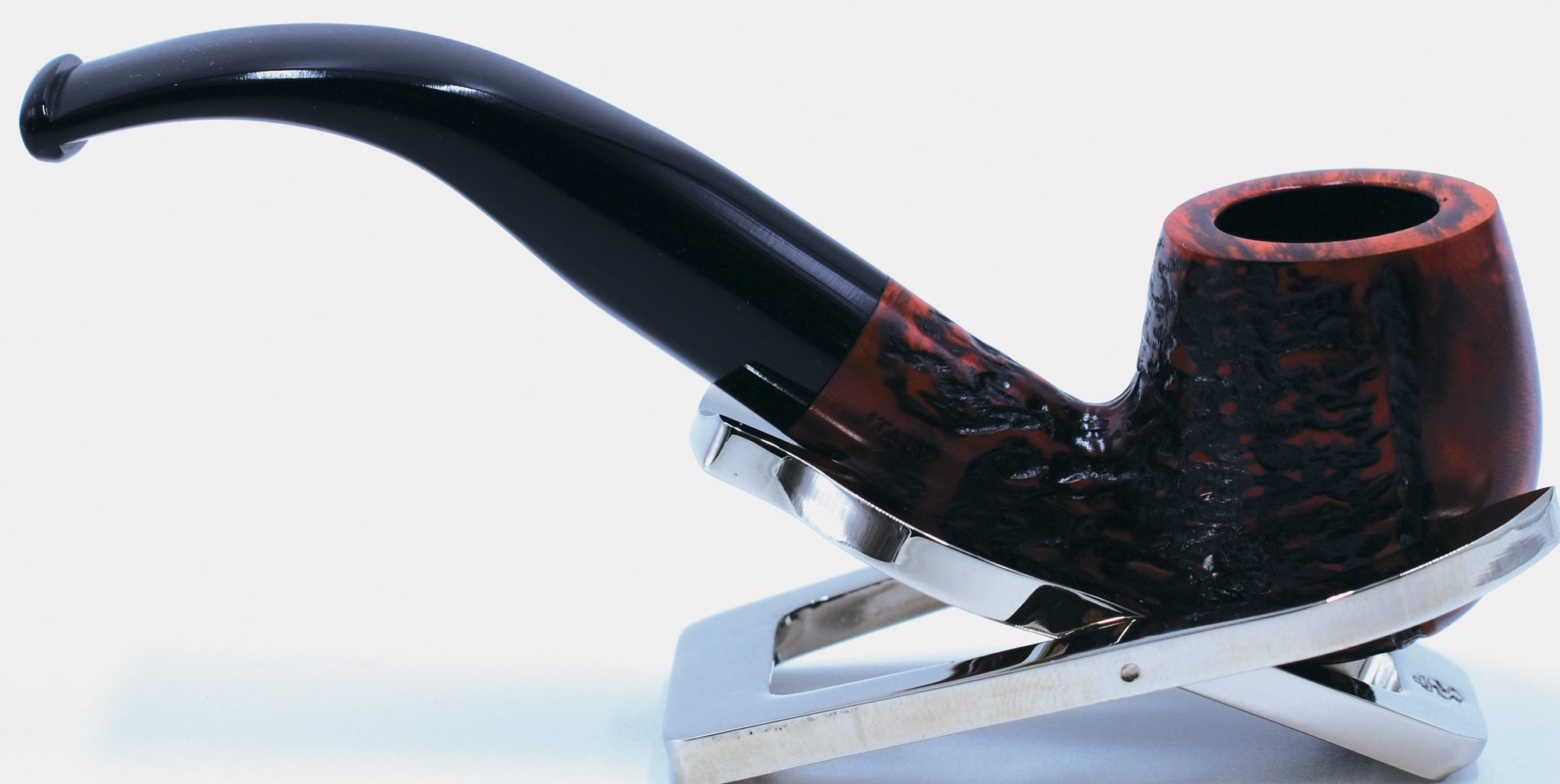 LEGENDEX® SCALADI* 9 MM Filtered Briar Smoking Pipe Made In Italy 01-08-139