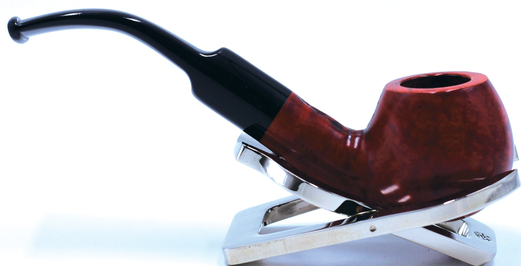 LEGENDEX® SCALADI* 9 MM Filtered Briar Smoking Pipe Made In Italy 01-08-141