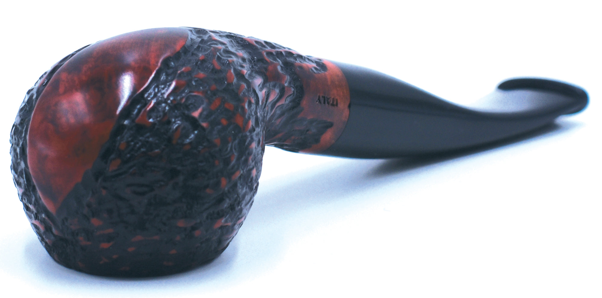 LEGENDEX® SCALADI* 9 MM Filtered Briar Smoking Pipe Made In Italy 01-08-151