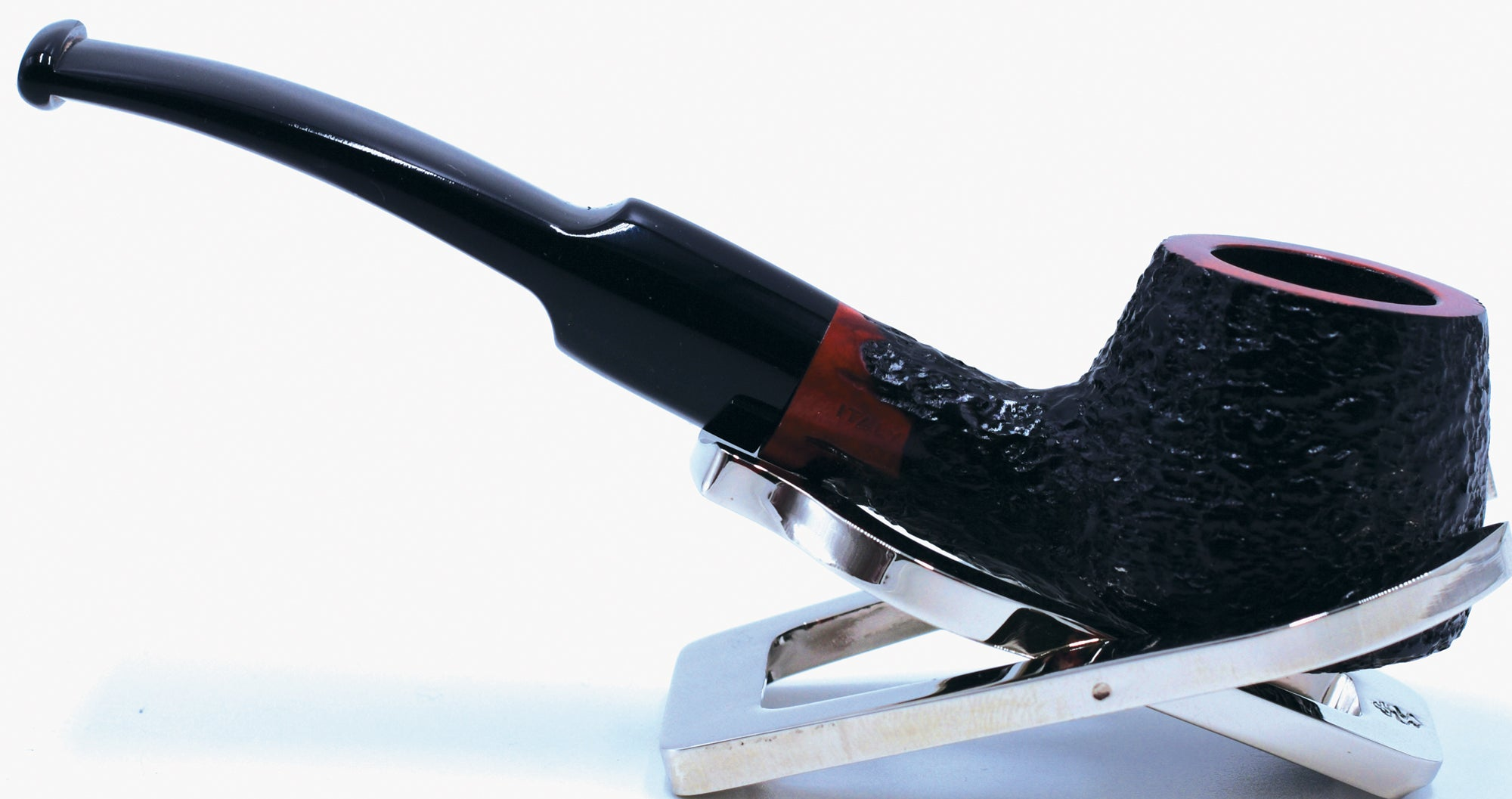 LEGENDEX® SCALADI* 9 MM Filtered Briar Smoking Pipe Made In Italy 01-08-161