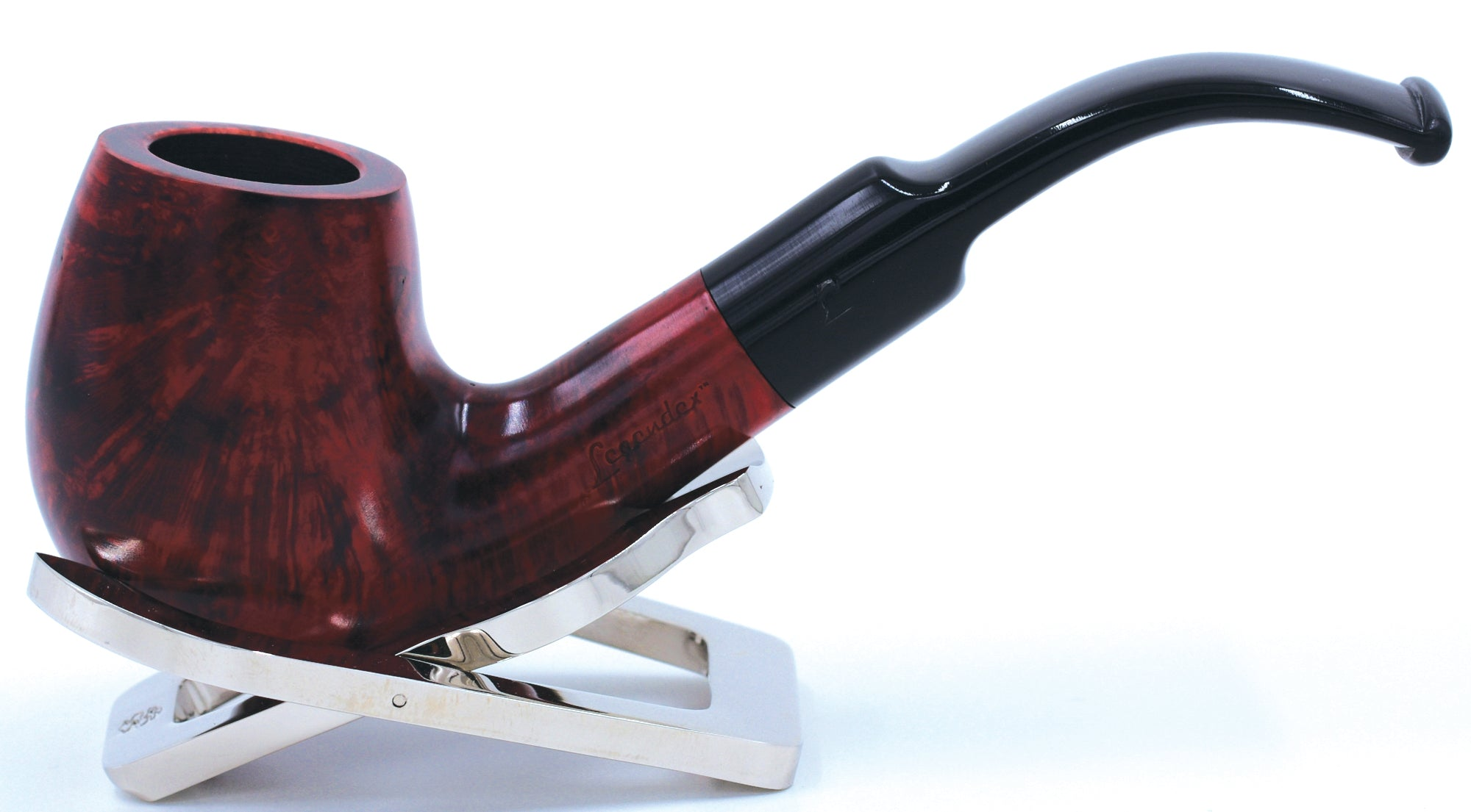 LEGENDEX® PAGANINI* 9 MM Filtered Briar Smoking Pipe Made In Italy 01-08-302