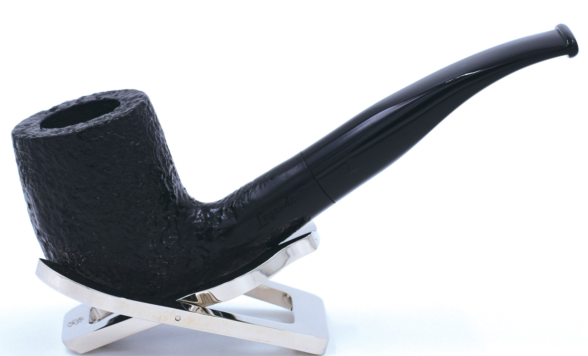 LEGENDEX® PAGANINI* 9 MM Filtered Briar Smoking Pipe Made In Italy 01-08-307