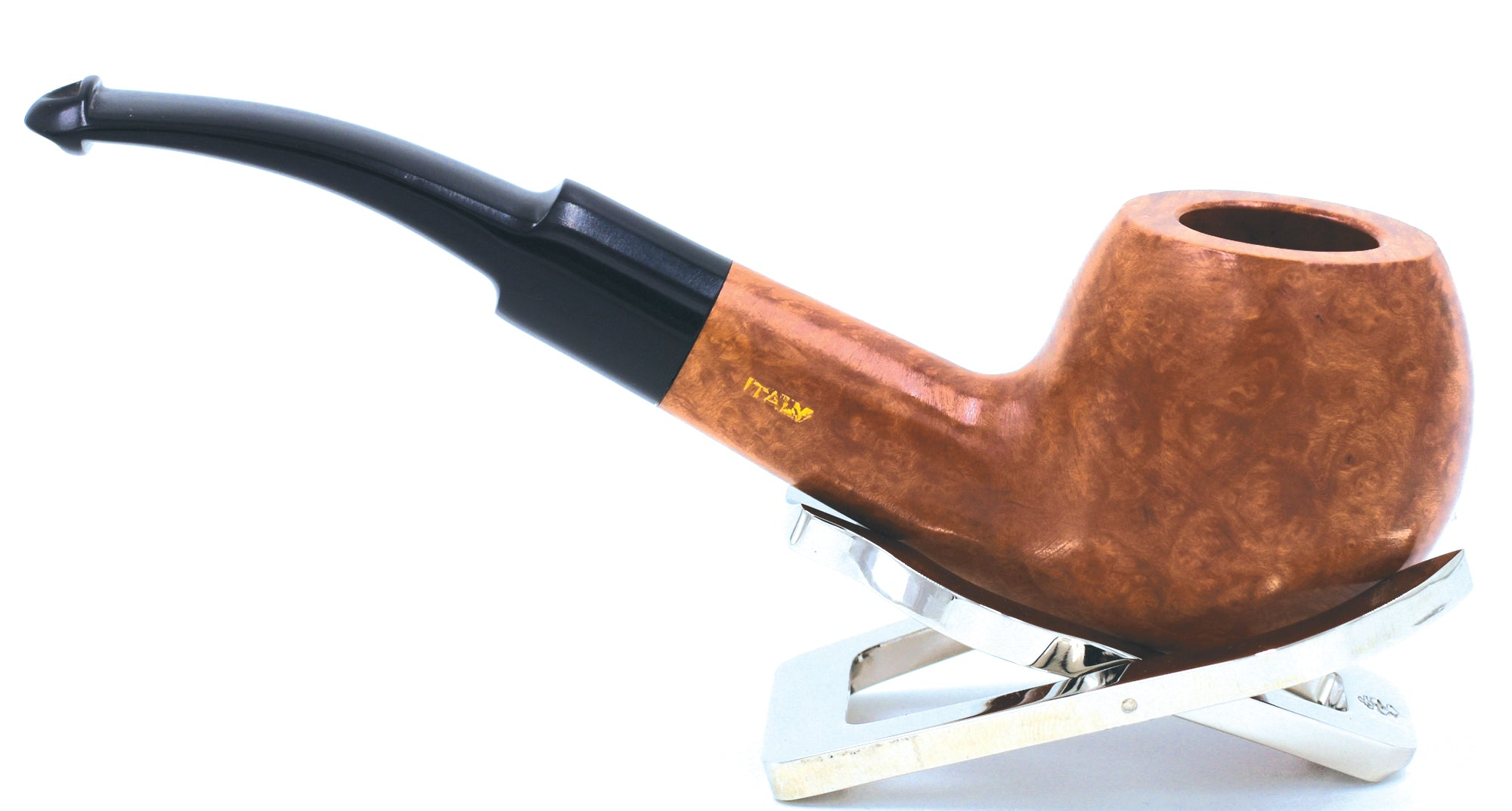 LEGENDEX® PAGANINI* 9 MM Filtered Briar Smoking Pipe Made In Italy 01-08-316