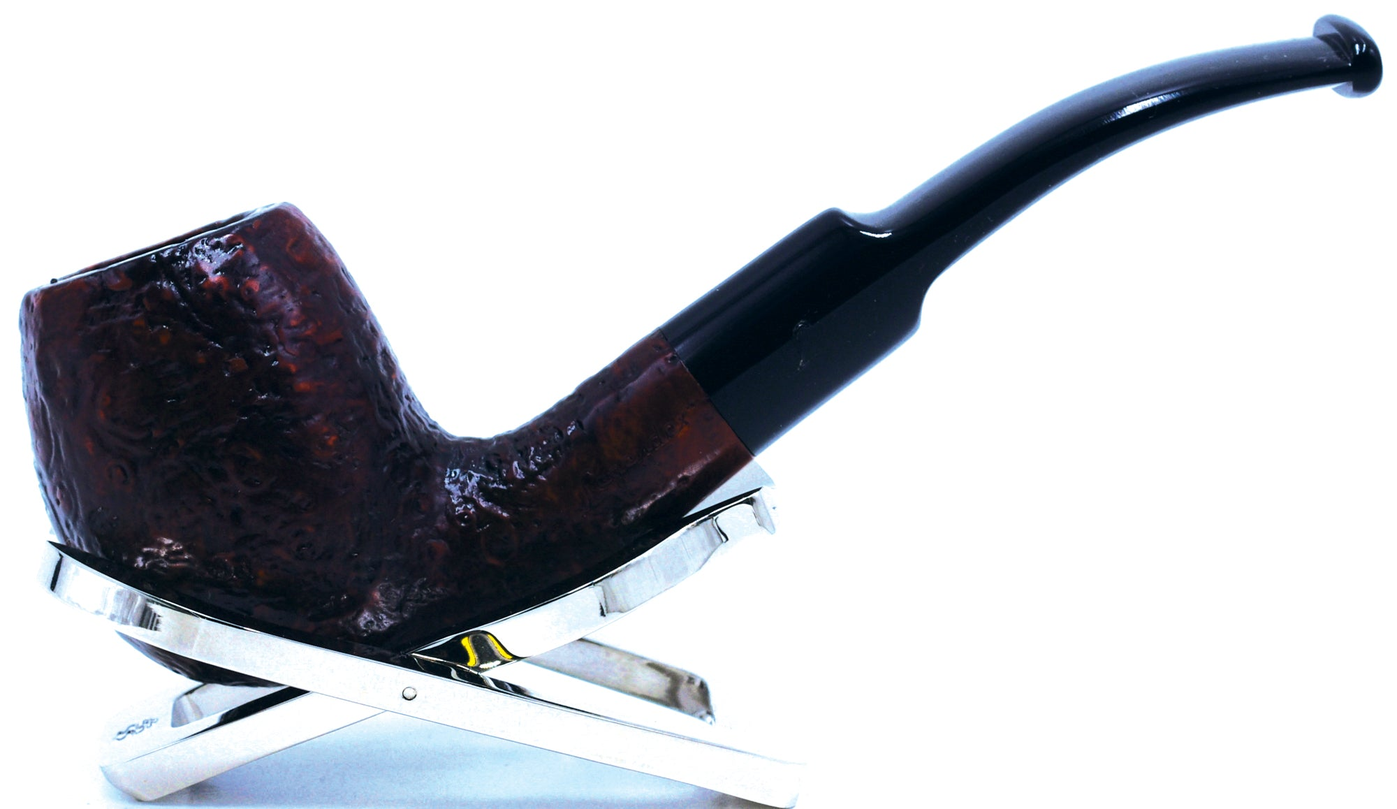 LEGENDEX® PAGANINI* 9 MM Filtered Briar Smoking Pipe Made In Italy 01-08-339