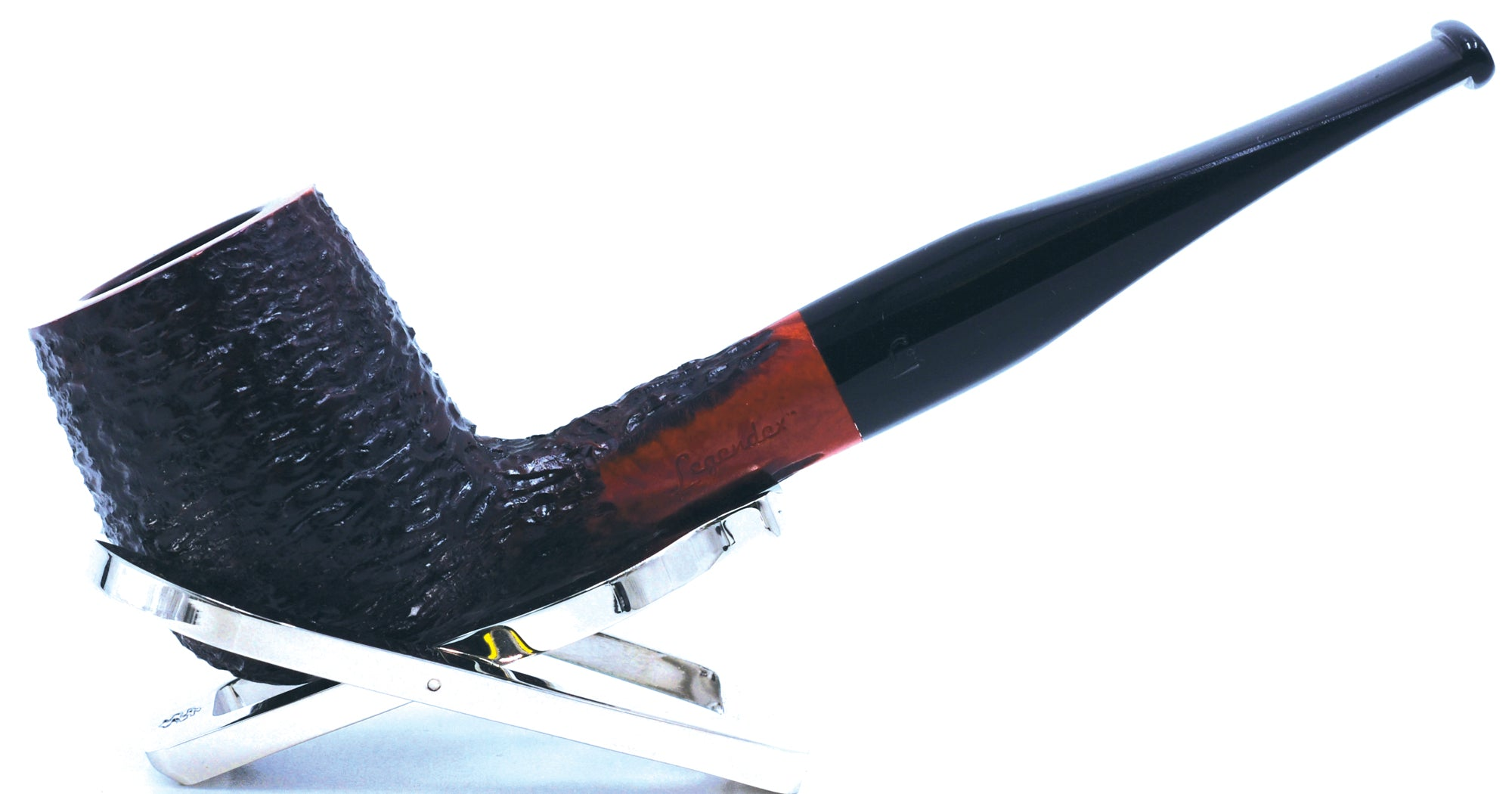 LEGENDEX® PAGANINI* 9 MM Filtered Briar Smoking Pipe Made In Italy 01-08-345
