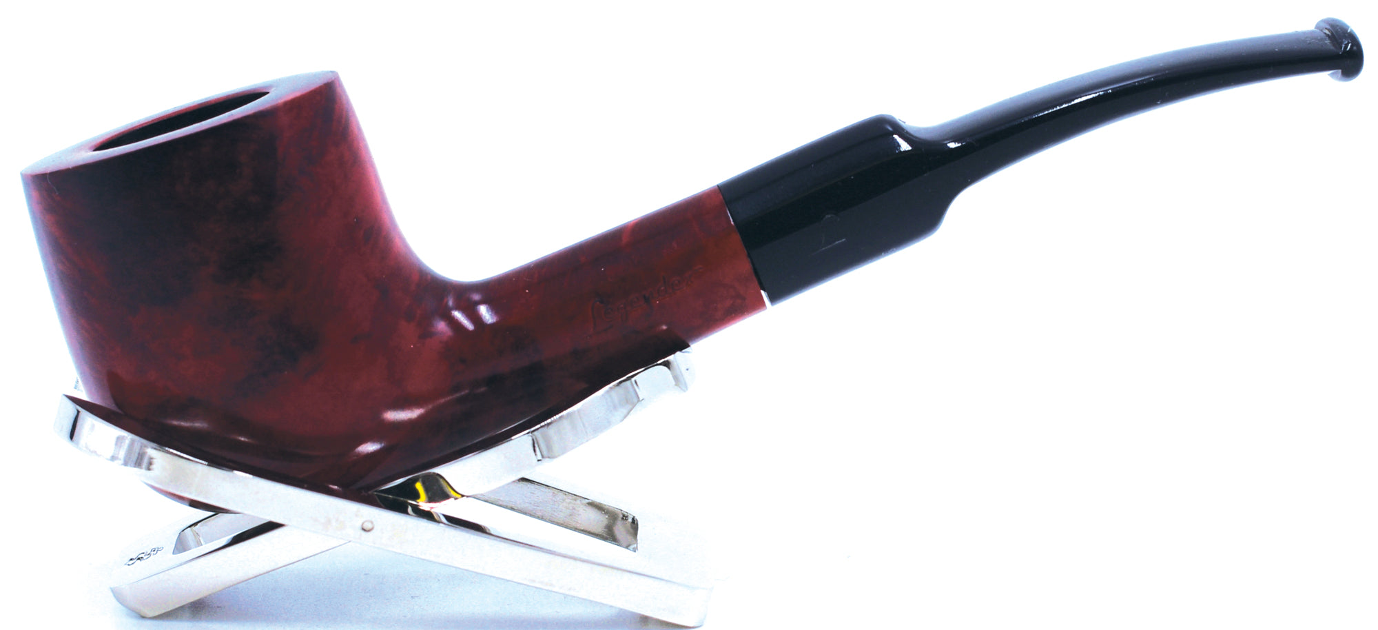 LEGENDEX® PAGANINI* 9 MM Filtered Briar Smoking Pipe Made In Italy 01-08-348