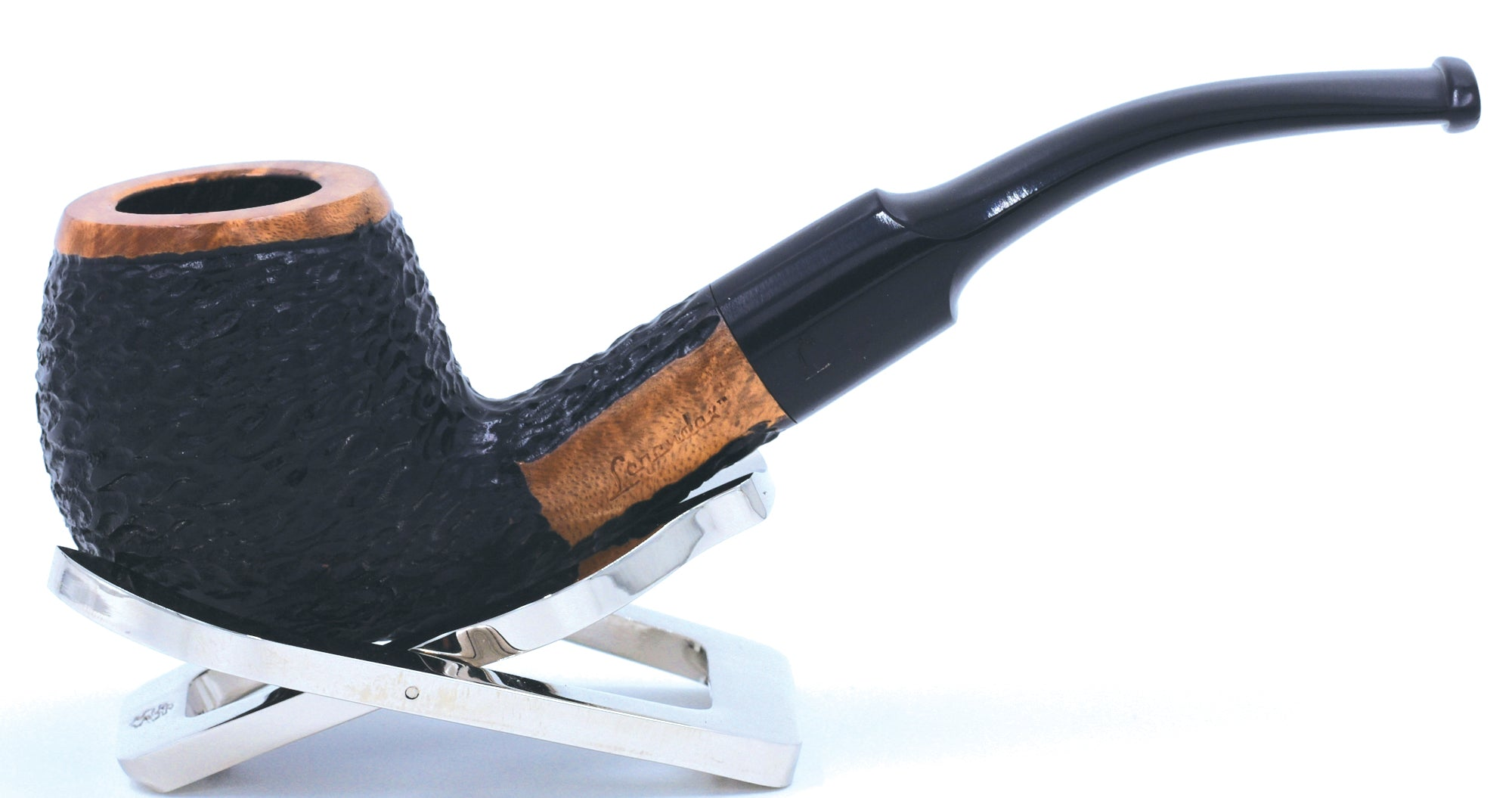 LEGENDEX® TOSCANINI* 9 MM Filtered Briar Smoking Pipe Made In Italy 01-08-408