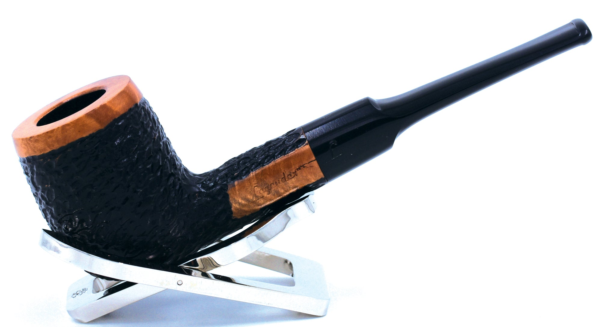 LEGENDEX® TOSCANINI* 9 MM Filtered Briar Smoking Pipe Made In Italy 01-08-412