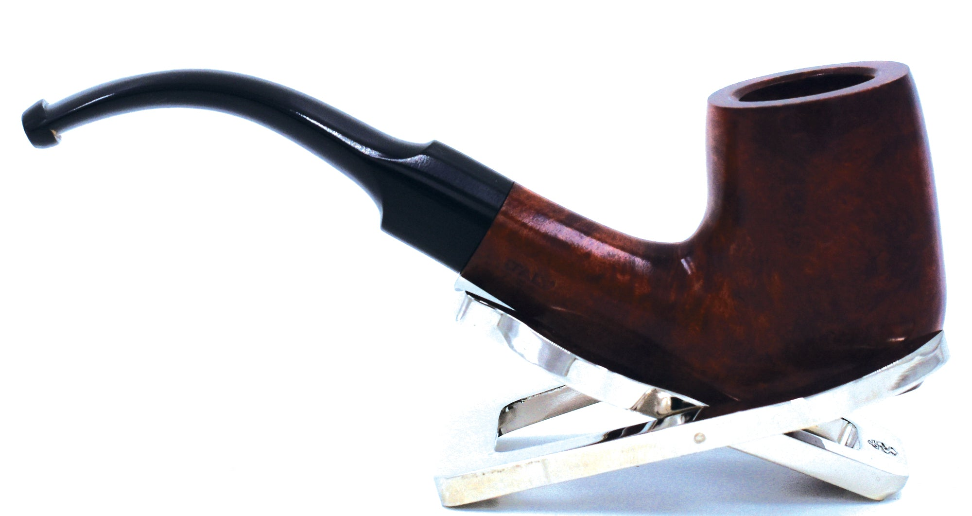 LEGENDEX® LASCALA* 9 MM Filtered Briar Smoking Pipe Made In Italy 01-08-501 Acrylic Series