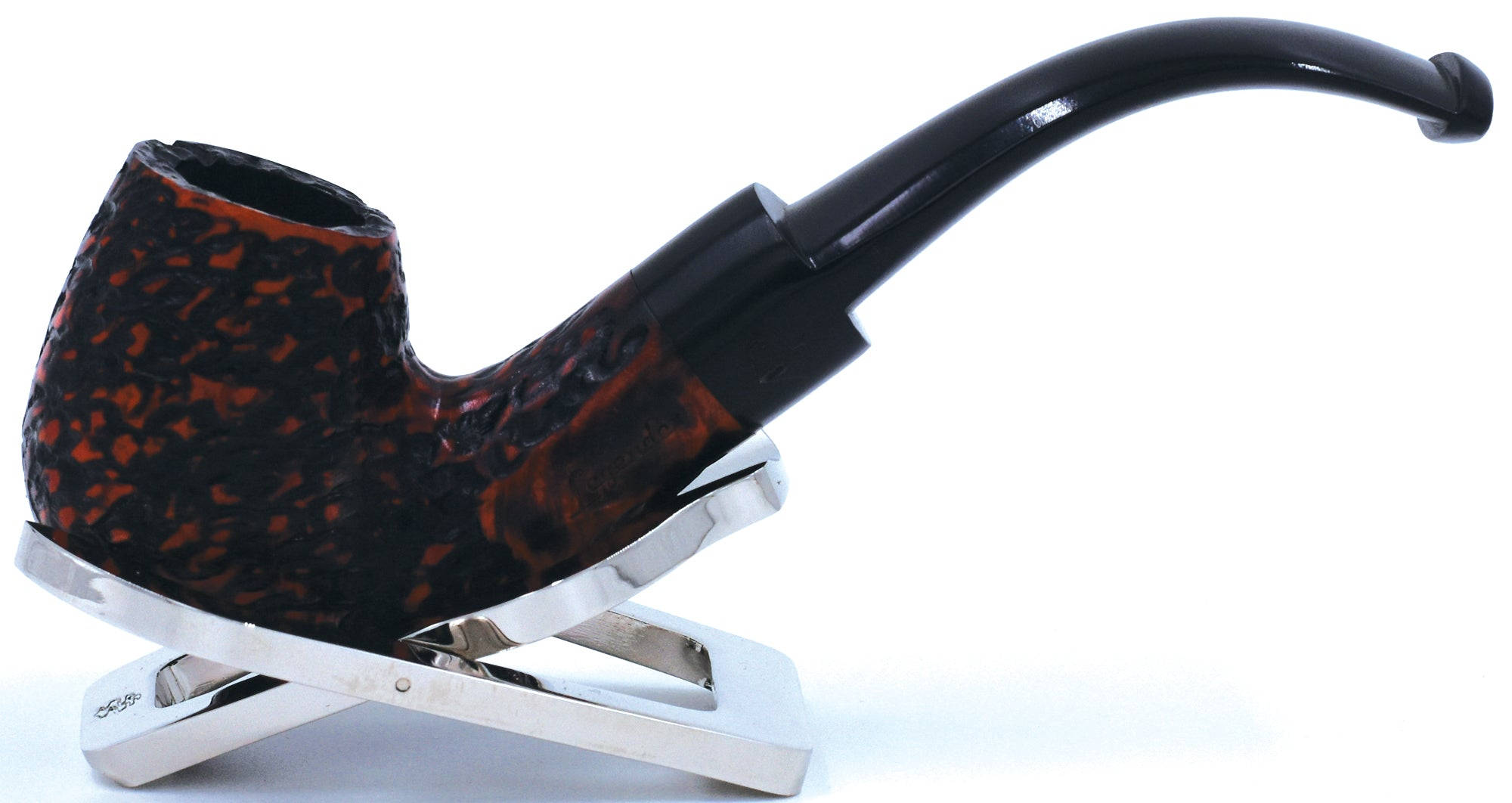 LEGENDEX® LASCALA* 9 MM Filtered Briar Smoking Pipe Made In Italy 01-08-505 Acrylic Series
