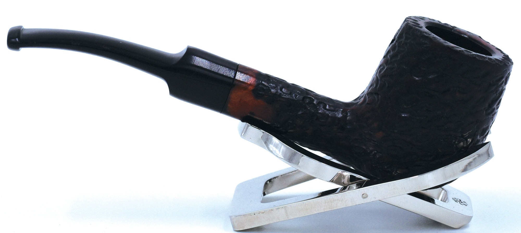 LEGENDEX® LASCALA* 9 MM Filtered Briar Smoking Pipe Made In Italy 01-08-510 Acrylic Series