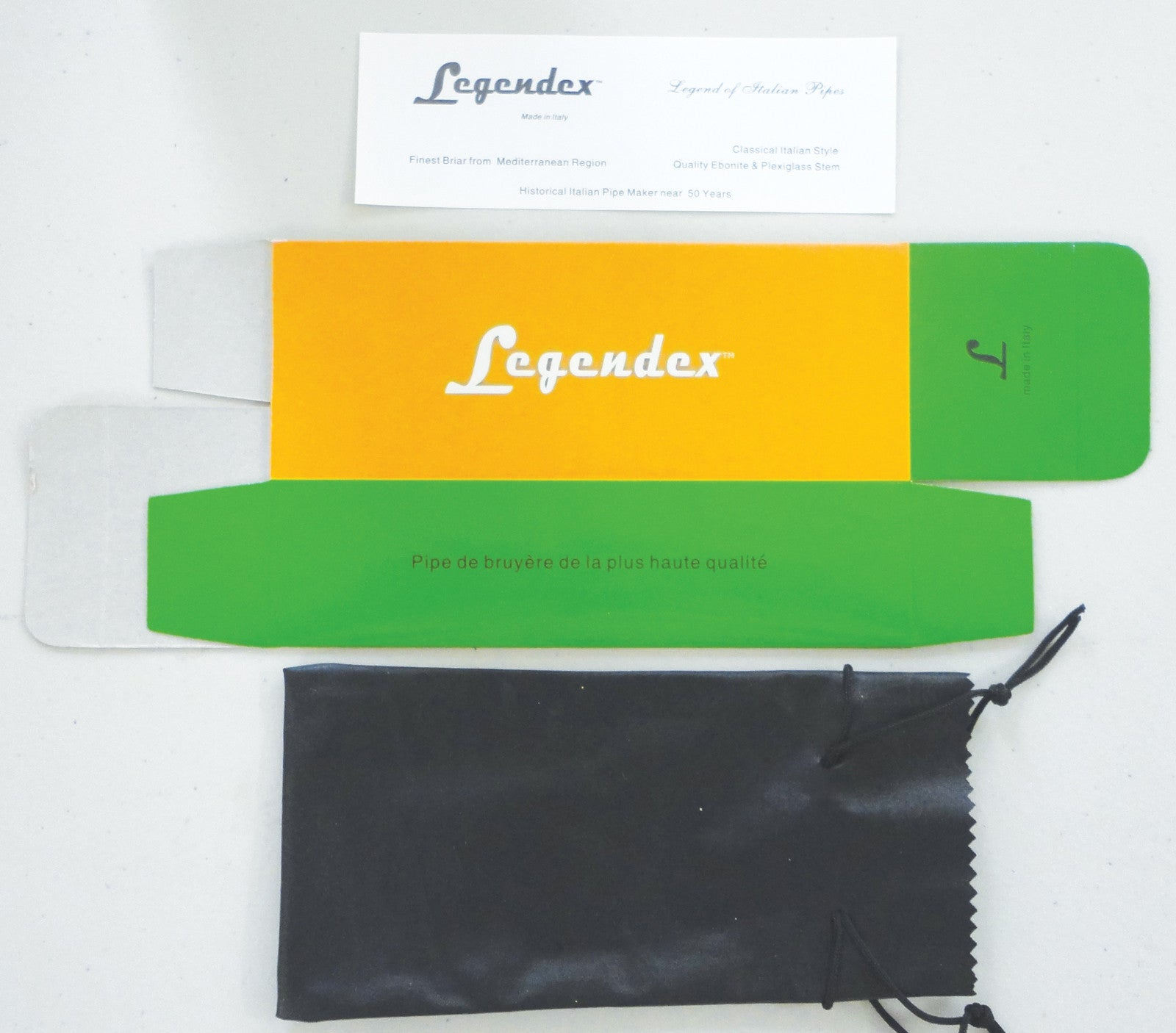 Legendex Bruyere 9 MM Filtered Pipe - Starter kit Bundle 01-08-613b