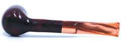 LEGENDEX® LASCALA* Plexiglass Mouthpiece Non-Filtered Briar Smoking Pipe Made In Italy 01-08-717