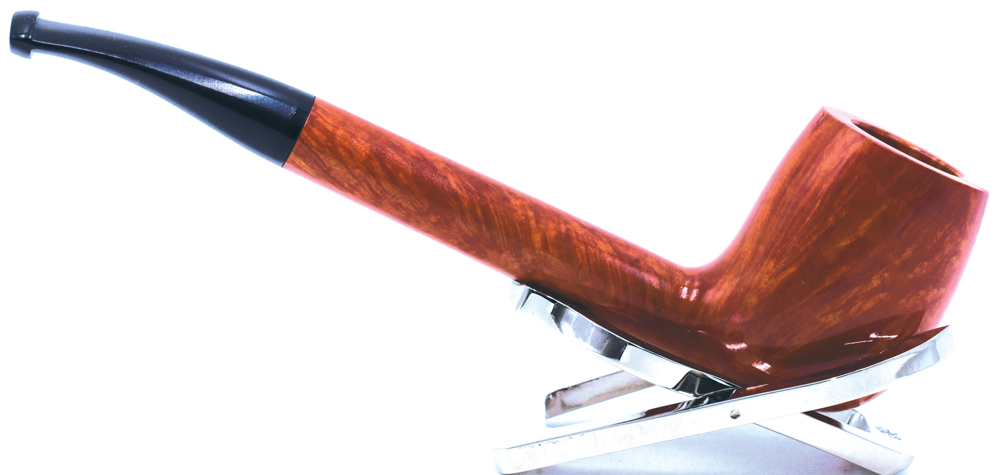 LEGENDEX® CANADIAN* Non-Filtered Long Stem Briar Smoking Pipe Made In Italy 01-08-801