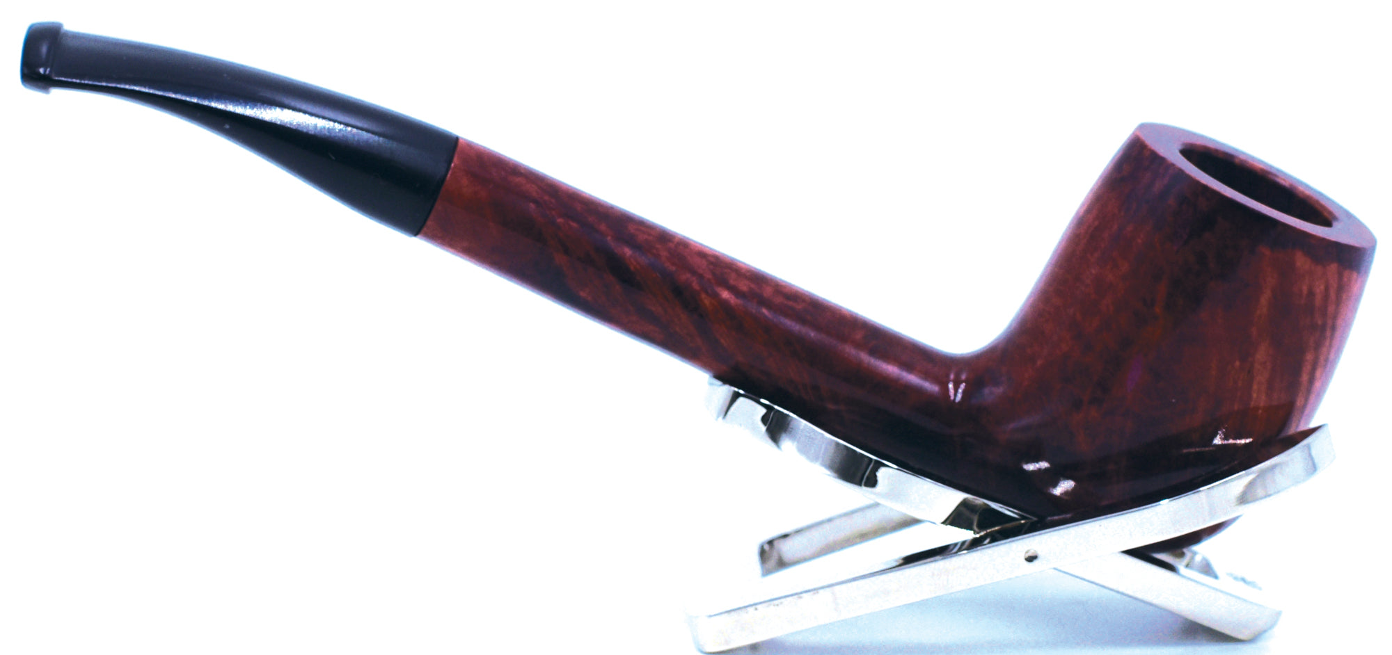 LEGENDEX® CANADIAN* Non-Filtered Long Stem Briar Smoking Pipe Made In Italy 01-08-804