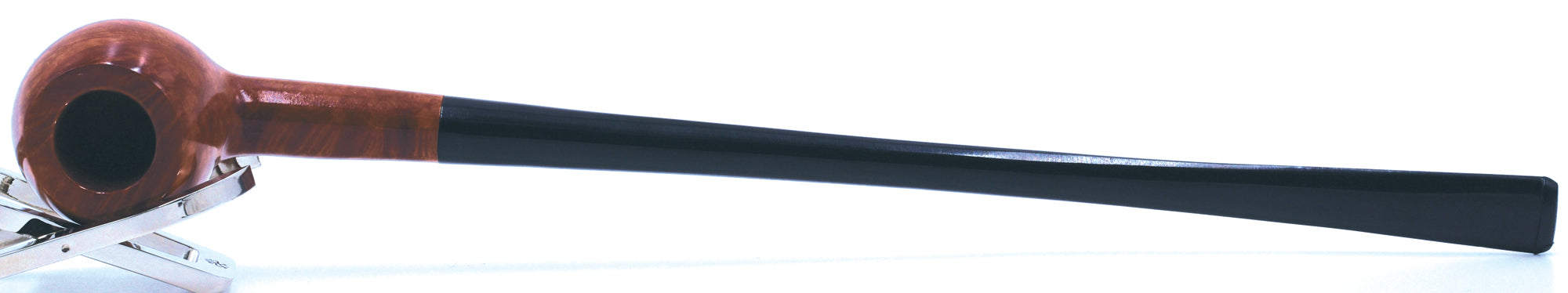 LEGENDEX® CAPRI* Non-Filtered Briar Smoking Pipe Long Churchwarden Made In Italy 01-08-902