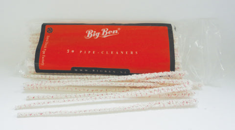 Bigben Pipe Cleaners Bristle 180 MM x 50's/bag x 5 bag's bundle 03-04-005