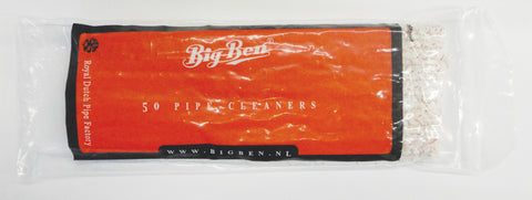 Bigben Pipe Cleaners Soft White 270 MM x 50's/bag x 5 bag's bundle 03-04-005