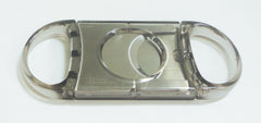 Legendex cigar cutter stainless steel double blade gray 05-05-104