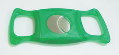 Legendex cigar cutter stainless steel double blade green 05-05-201