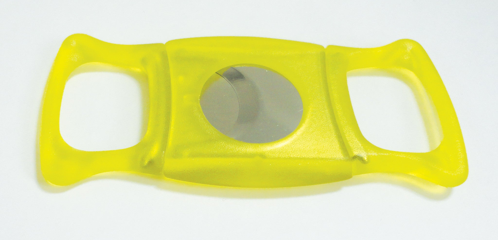 Legendex cigar cutter stainless steel double blade yellow 05-05-202