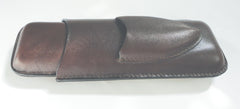 Legendex leather cigar case 2 corona brown 05-04-300