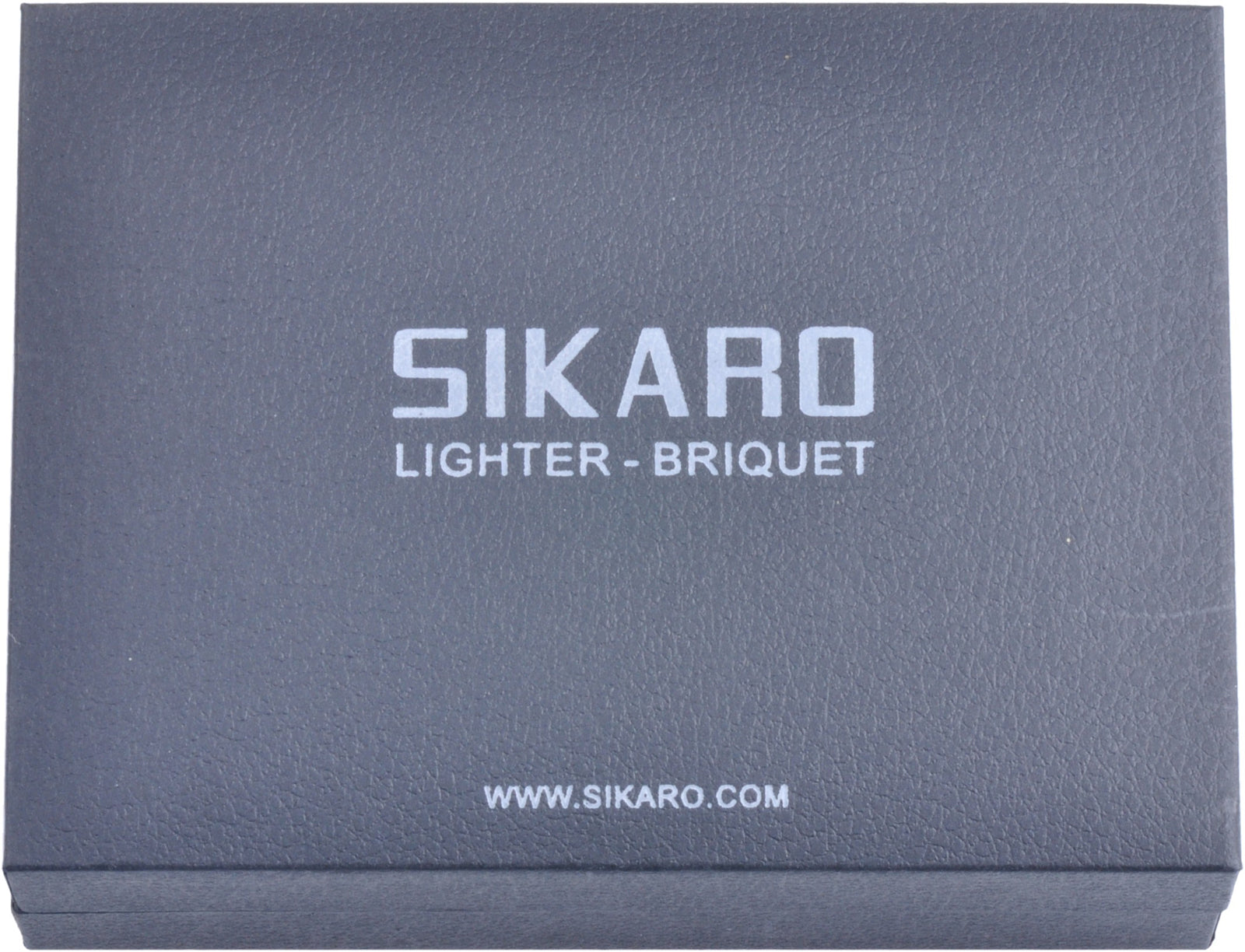 Sikaro Typhoon Triple Torch Lighter w/Cigar Punch 06-06-105 White Nickel Matte (Silver Matte)