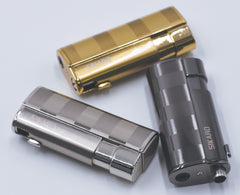 Sikaro Hurricane Triple Torch Lighter w/cigar punch 06-06-203 Shiny gold / chrome