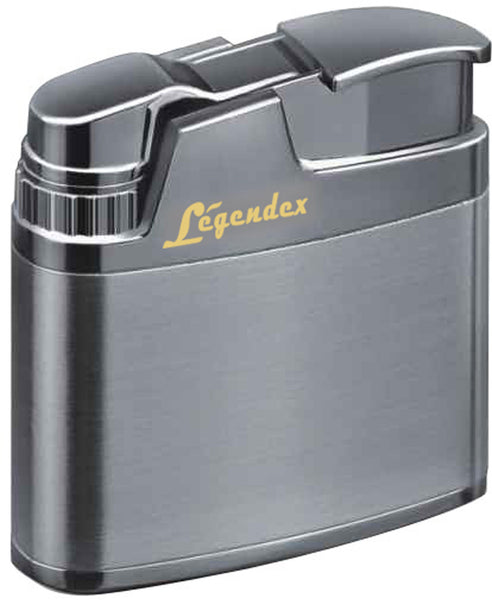 Legendex Climber Turbo Windproof Lighter 06-55-201 Silver bright