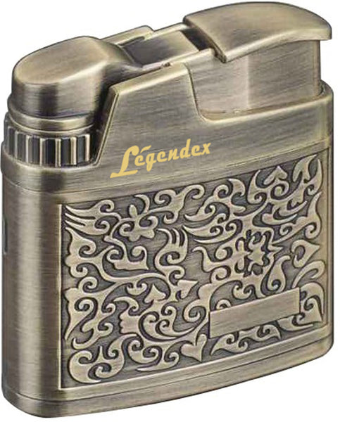 Legendex Climber Turbo Windproof Lighter 06-55-204 Antique brass / Arabesque