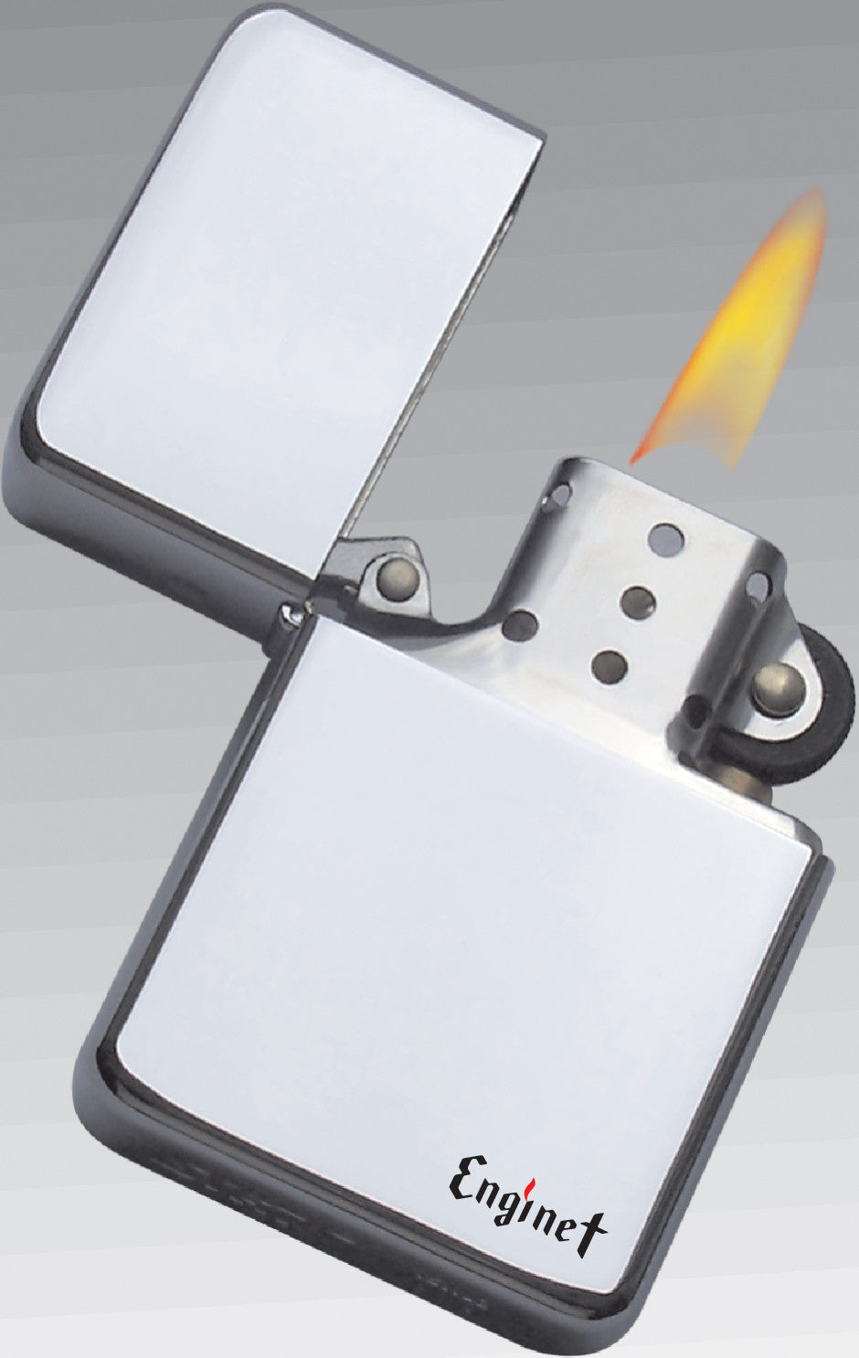Enginet brand windproof oil lighter 06-60-201