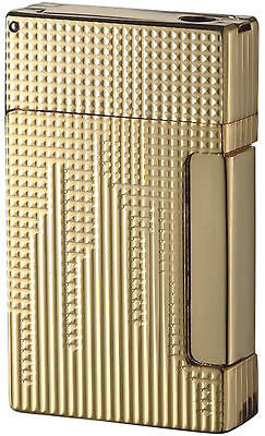 Sikaro Triumphal Arch Twin Torch Cigar Lighter 24K Gold Engraving w/cigar punch 06-05-105