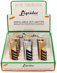 Legendex Explorer Torch Lighter 06-50-402 Titanium brushed