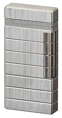 Sarome Flint Lighter SD6-09 Silver hairline / diamond cut
