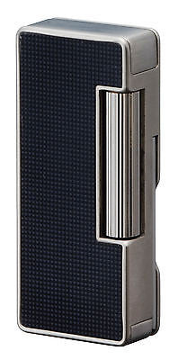 Sarome Flint Pipe Lighter w/pipe tools PSD37-04 Black lattice alumite