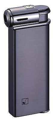 Sarome Piezo Pipe Lighter PSP-09 Black nickel super satin (Gunmetal)