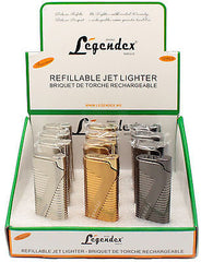 Legendex Pioneer Torch Lighter 06-50-502 Black nickel satin (Gunmetal)