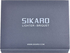 Sikaro Lightning Torch Lighter 06-01-301 Shiny White Nickel