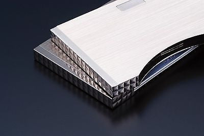 Sarome Business Card Case EXNA1-03 Silver hairline