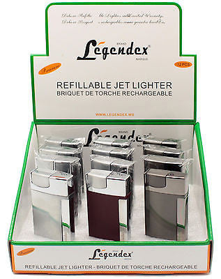 Legendex Adventurer Torch Ligther 06-50-303 Black Crackle/Chrome Satin