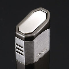 Sarome SK51-06 Piezo Electronic Lighter Navy Blue Marble Lacquer