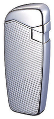 Sarome JB8-18 Turbo Windproof Lighter - Nickel / etching